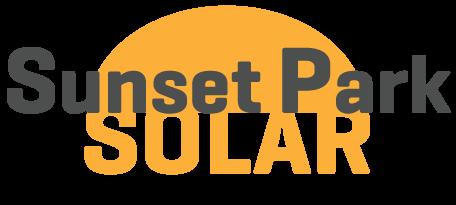 sunset park solar logo