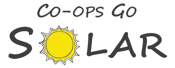 Co-ops Go SOlar